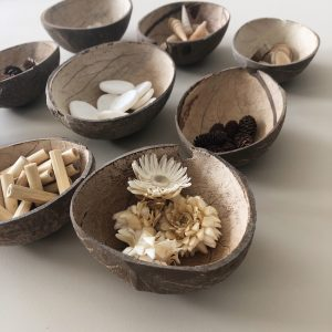 loose-parts-play-coconut-bowls