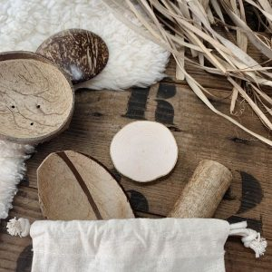 natural treasure basket for babies